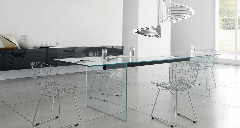 glass furniture gallotti and radice