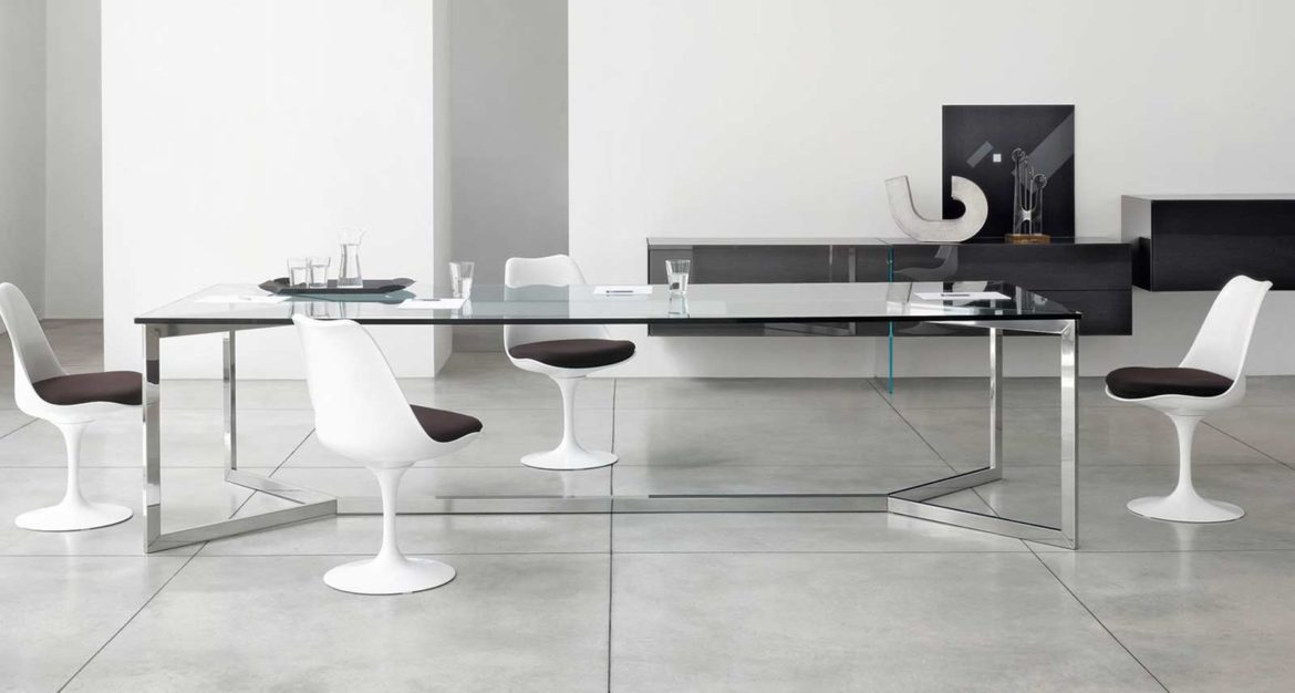 glass furniture gallotti and radice