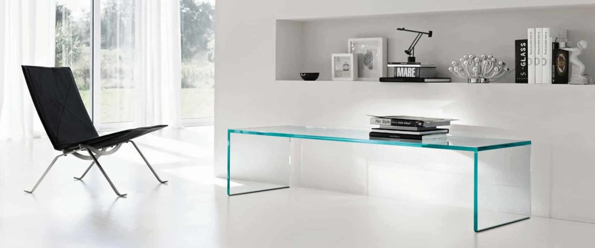 Glass Furniture - Featured glass Coffee table by tonelli