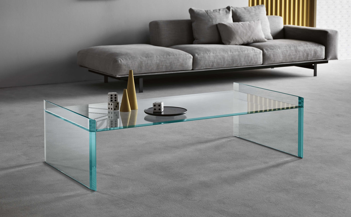 klarity glass tables