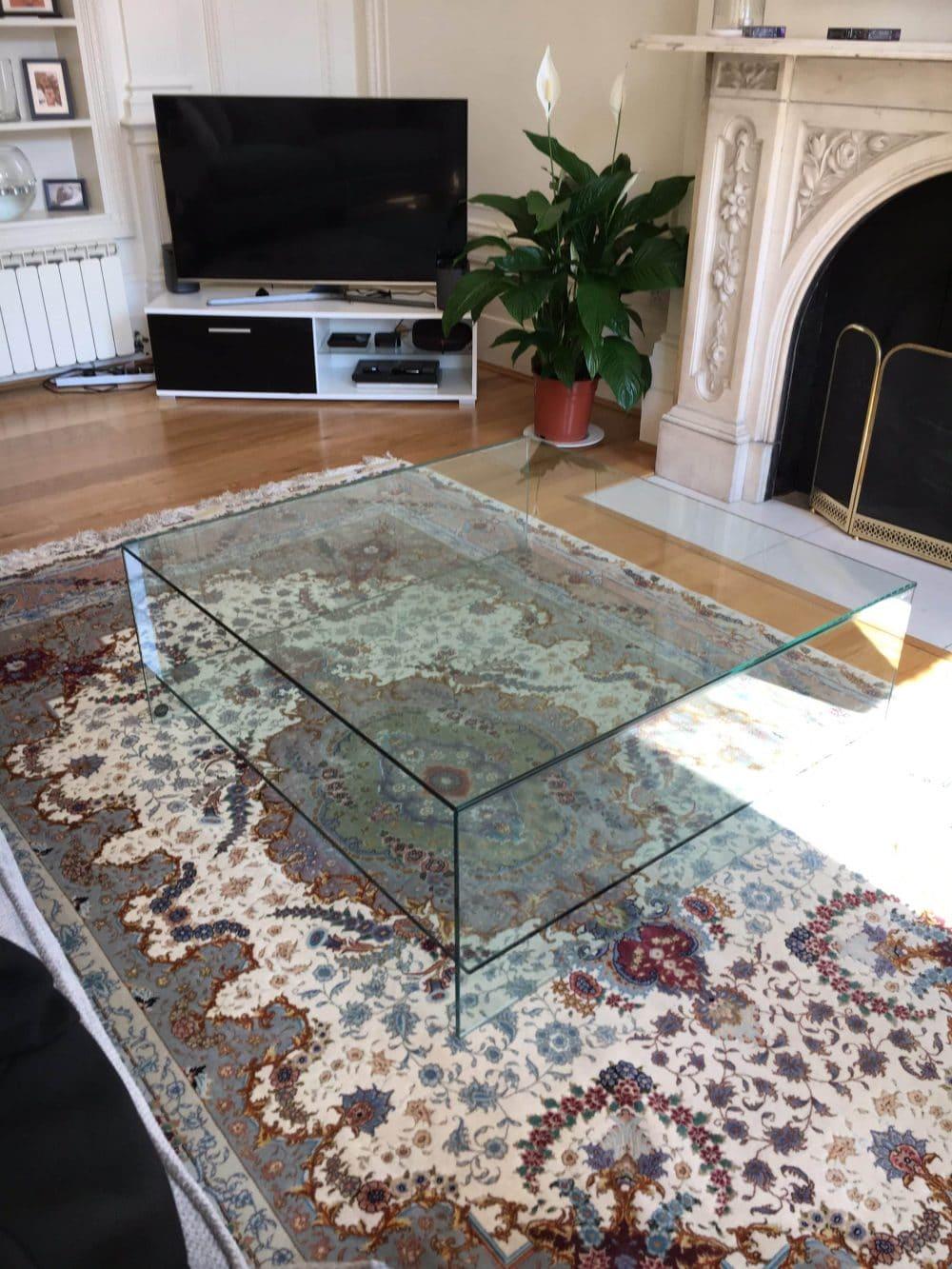 Judd glass Coffee Table