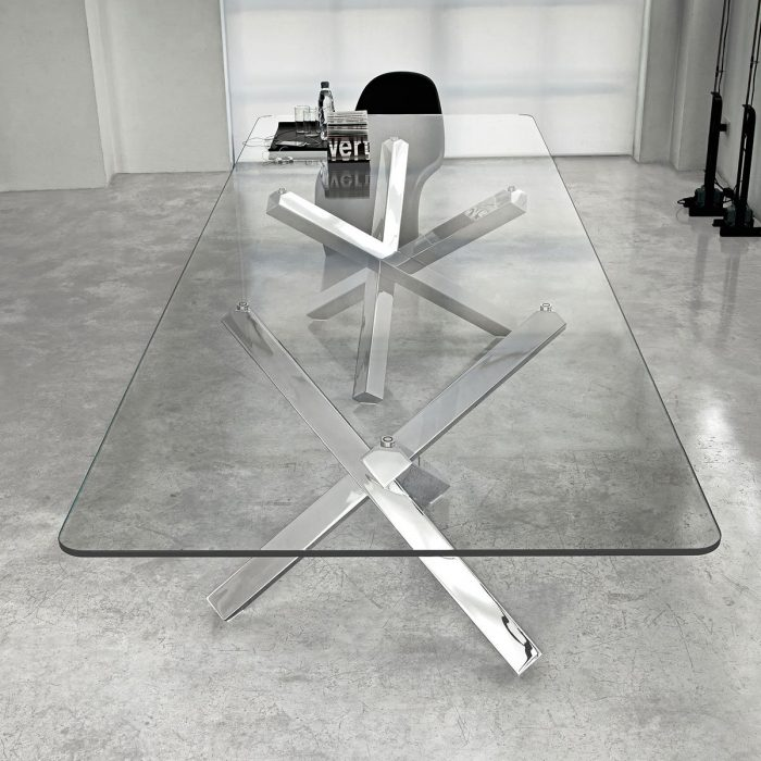 Aikido-Large-Glass-Dining-Table-by-sovet-Italia-3