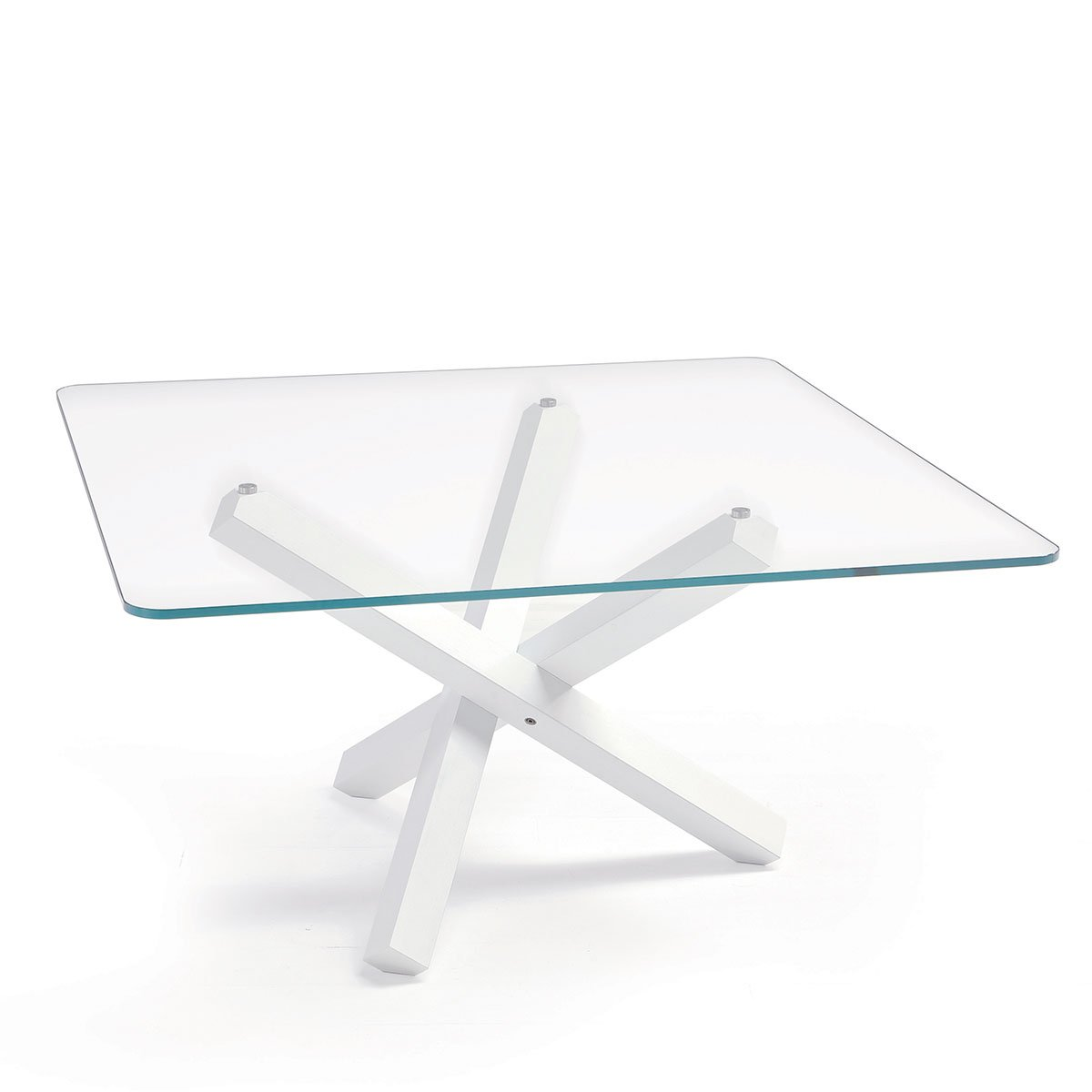 Sovet Italia Aikido Dining Table Klarity Glass Furniture