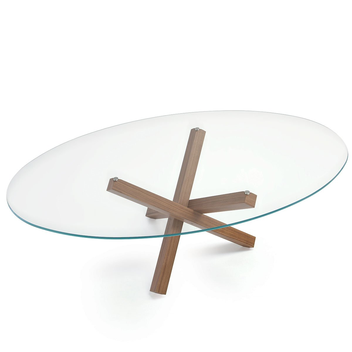 Sovet Italia Aikido Dining Table Klarity Glass Furniture : Aikido oval Glass Dining Table by sovet Italia 3 from glassfurniture.co.uk size 1200 x 1200 jpeg 16kB