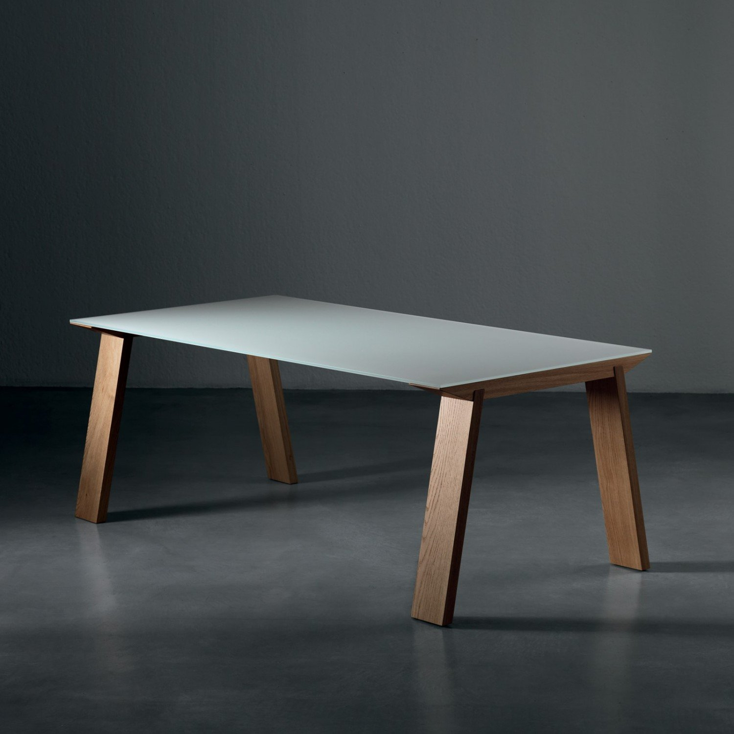 Artu Extending Wood And Glass Dining Table Klarity
