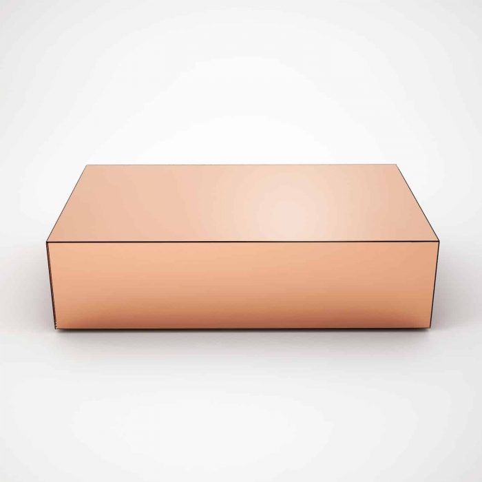 Copper Top Rectangular Coffee Table: Glass Coffee Table Solutions