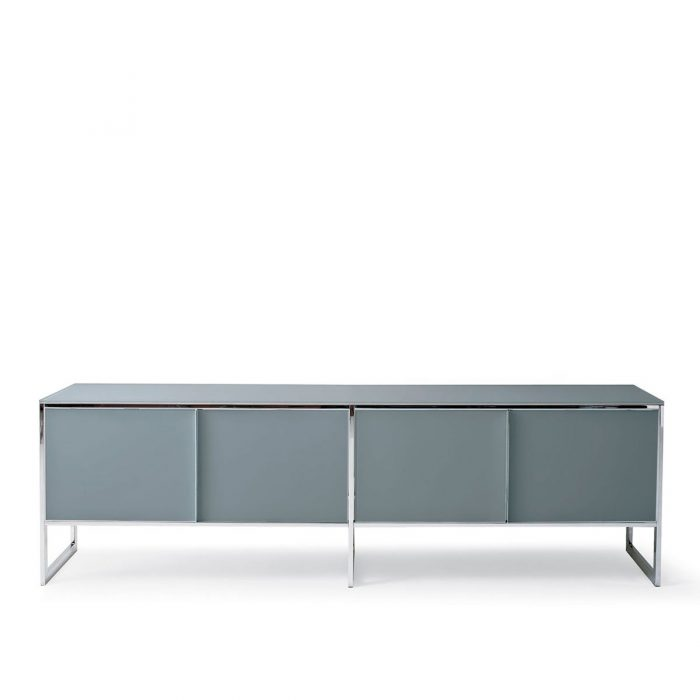 Tonelli Liber M Glass Sideboard Klarity Glass Furniture