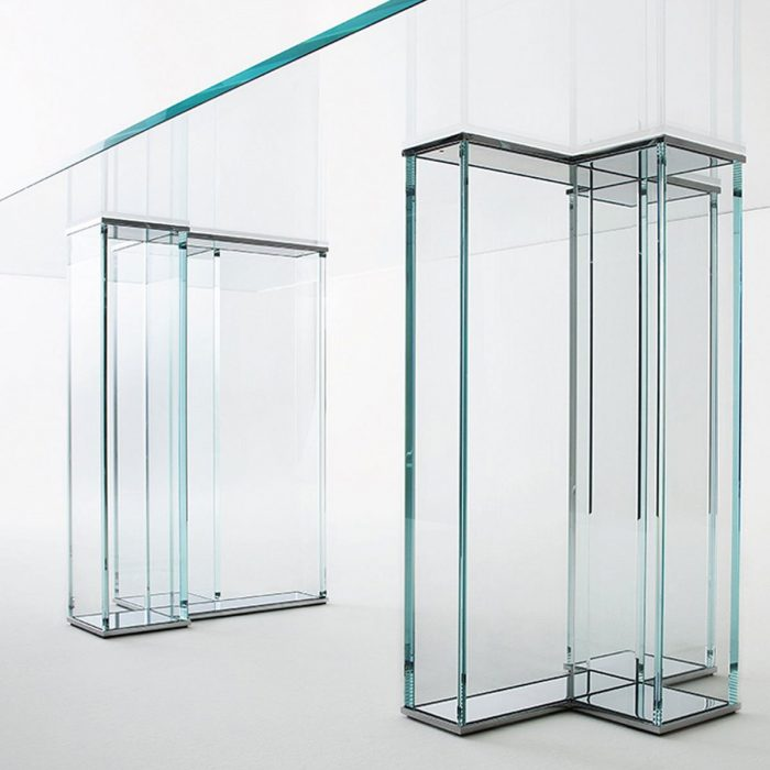 Ever Glass Table by Gallotti & Radice