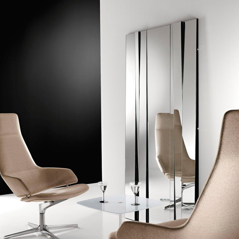 Fittipaldi 180 Glass Mirror by Tonelli - Klarity - Glass Furniture - fittipaldi mirror by tonelli