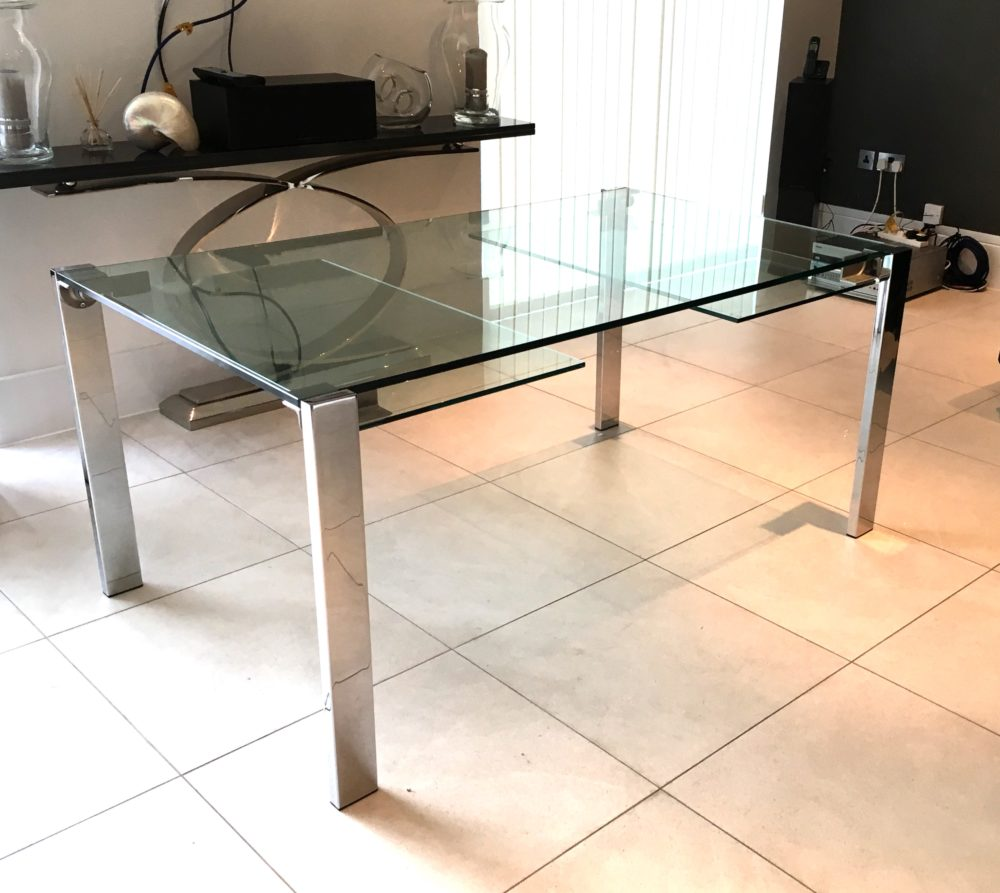 Livingstone Glass Table tonelli