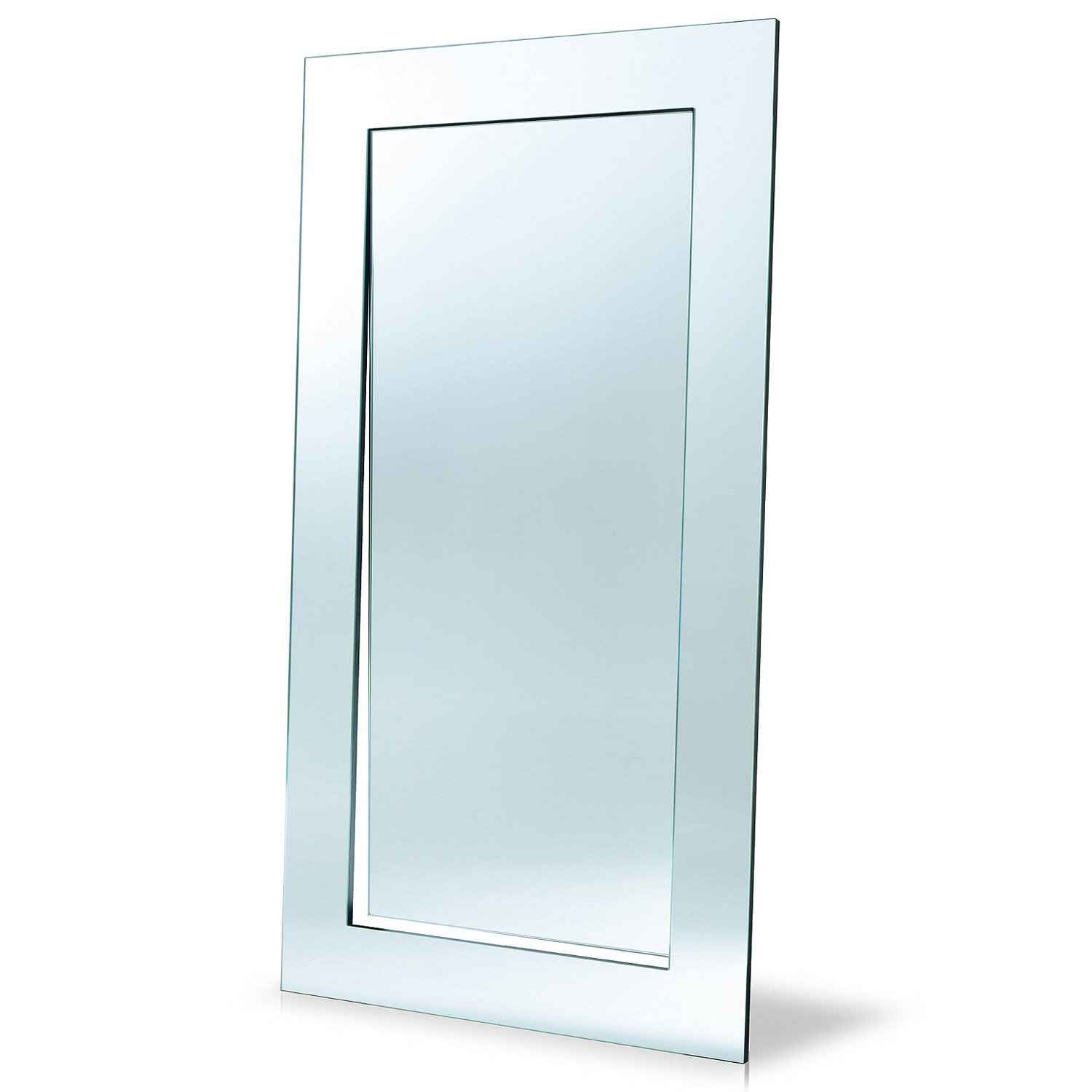 Gerundio leaning full length mirror by tonelli klarity for Full size mirror