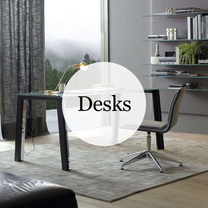 Glass Desks