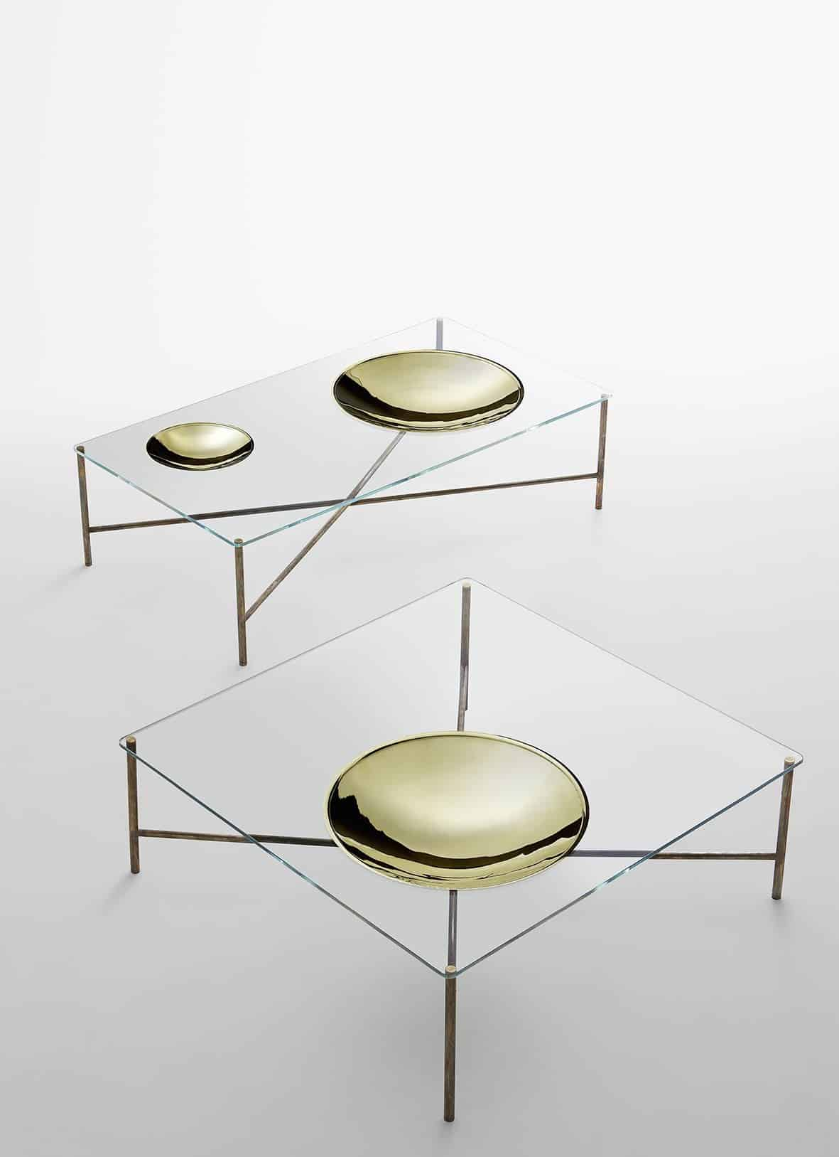 Golden Moon GallottiRadice glass furniture milan 2015