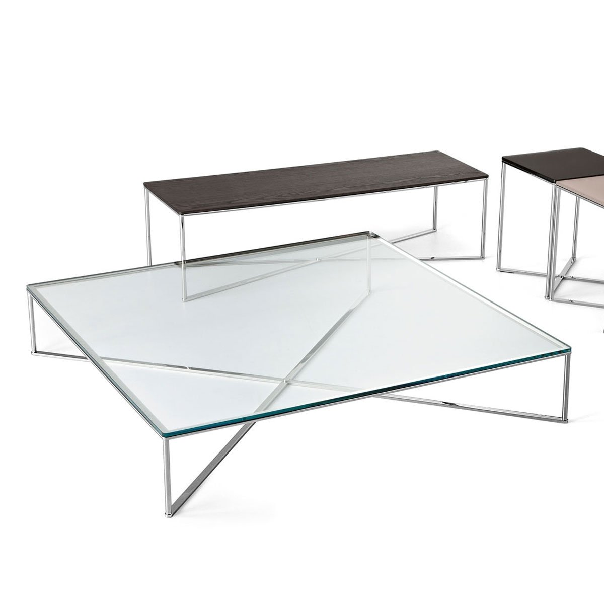 Glass furniture blog the best glass furniture from around the globe Steel and glass coffee table