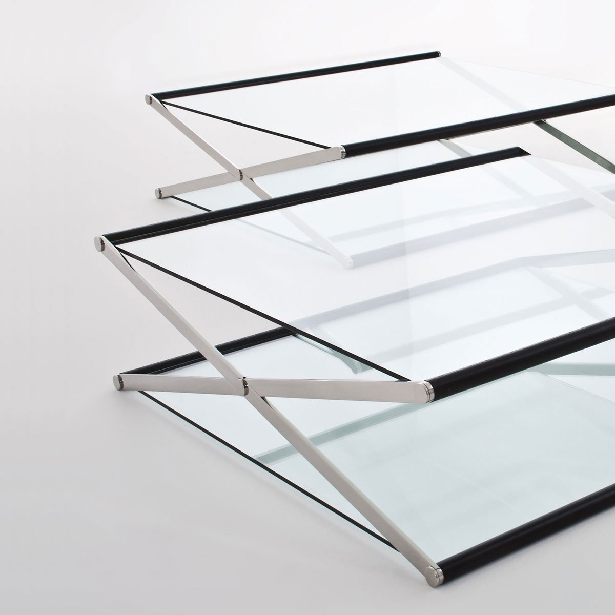 Nox Glass Wood and Metal Coffee Table by Gallotti amp Radic  : Nox Glass Wood and Metal Coffee Table by Gallotti Radice1 from glassfurniture.co.uk size 1200 x 1200 jpeg 35kB