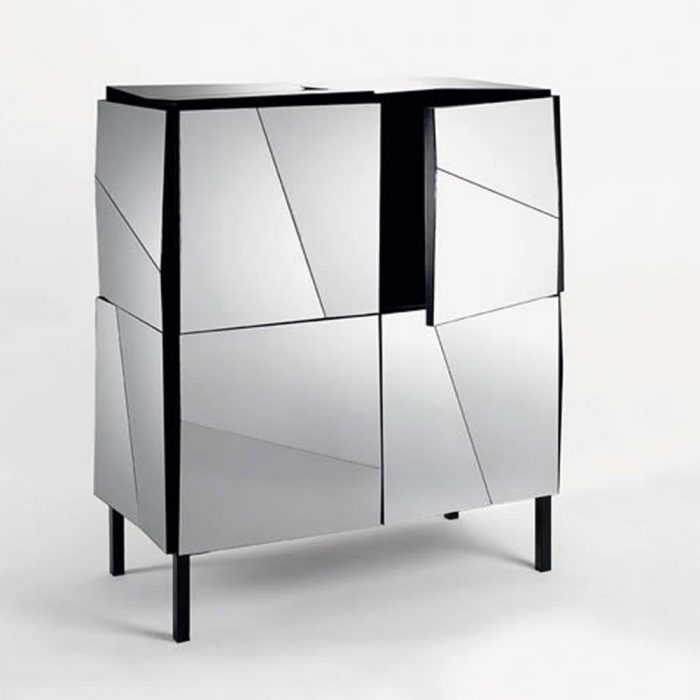 Plasmatik Tv Unit By Tonelli Klarity Glass Furniture