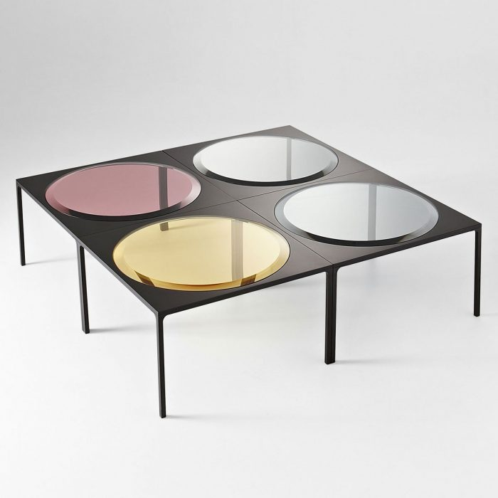square glass coffee table archives klarity. Black Bedroom Furniture Sets. Home Design Ideas