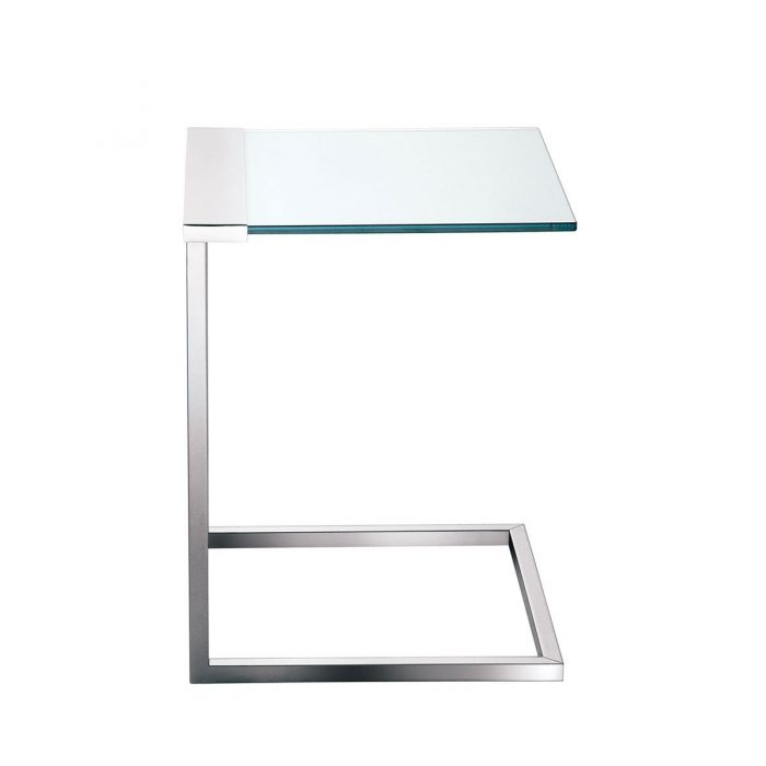 Car donation metal glass side table with glass and metal side table