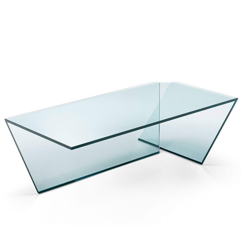 Ti Glass Coffee Table By Tonelli Klarity Glass Furniture