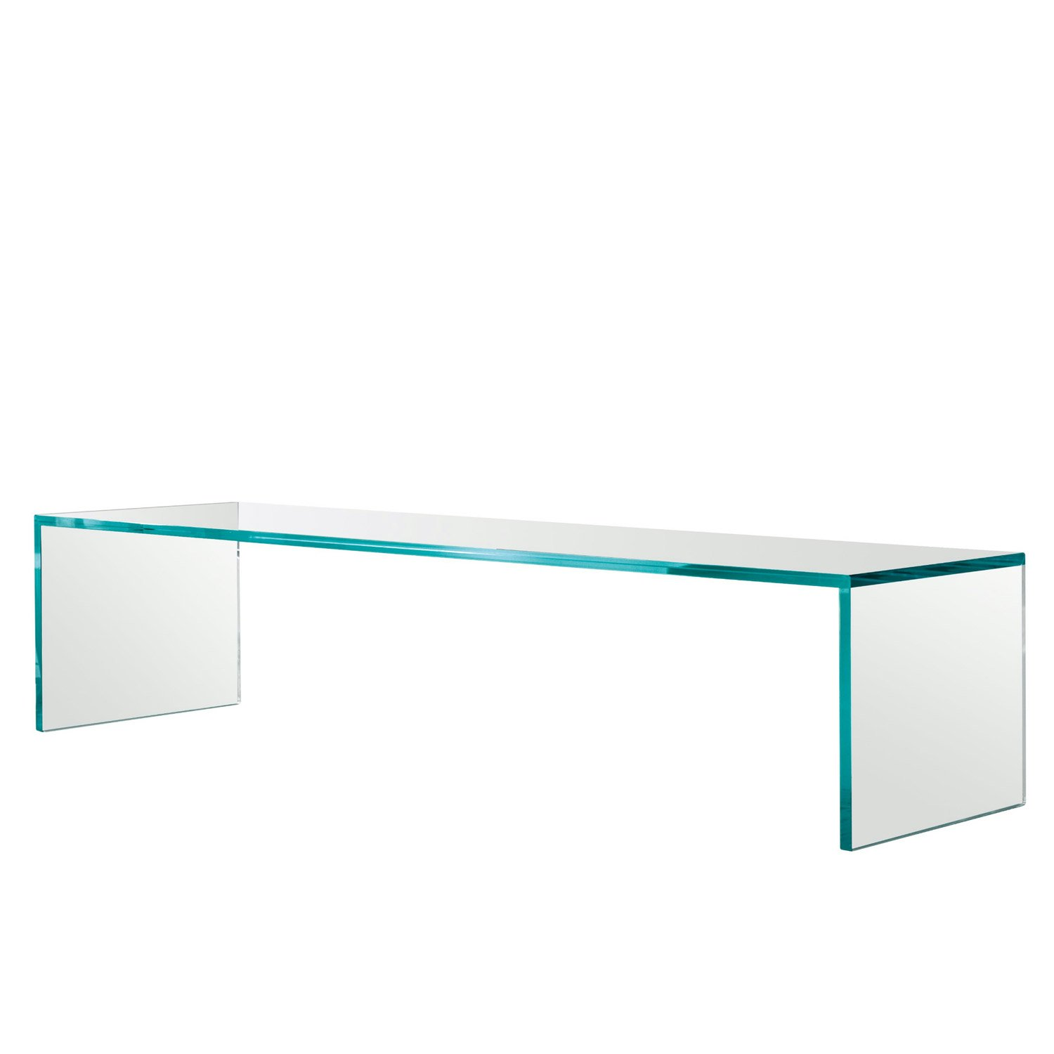 capo horn glass coffee table by tonelli  klarity  glass furniture - klarity  glass furniture shop  glass coffee table  all glass coffeetables  capo horn glass coffee table by tonelli
