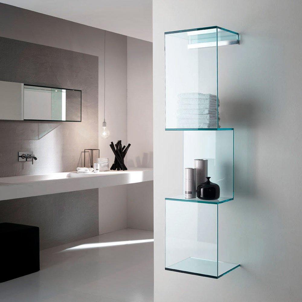 Cling Glass Shelf By Tonelli Klarity Glass Furniture