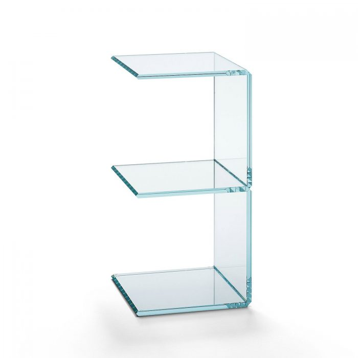digit 3 glass storage unit by tonelli