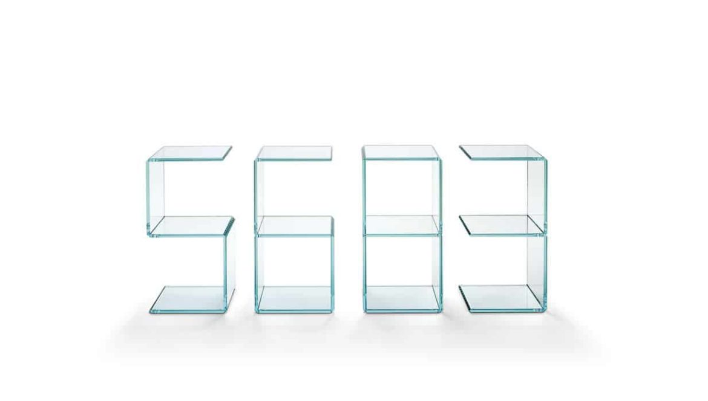 Digit by Tonelli glass furniture milan 2015