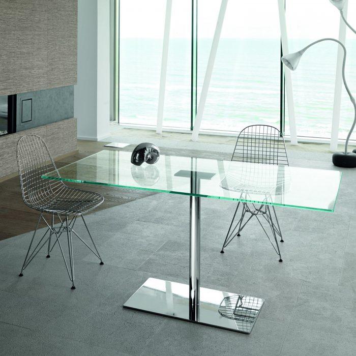 Twiggy Tonelli Dining table Klarity Glass Furniture