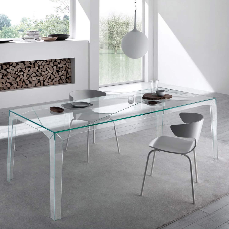 Glass Dining Tables Uk Tonelli Bacco Glass Dining Table  : fragment glassdiningtable tonelli 02 from amlibgroup.com size 1500 x 1500 jpeg 110kB