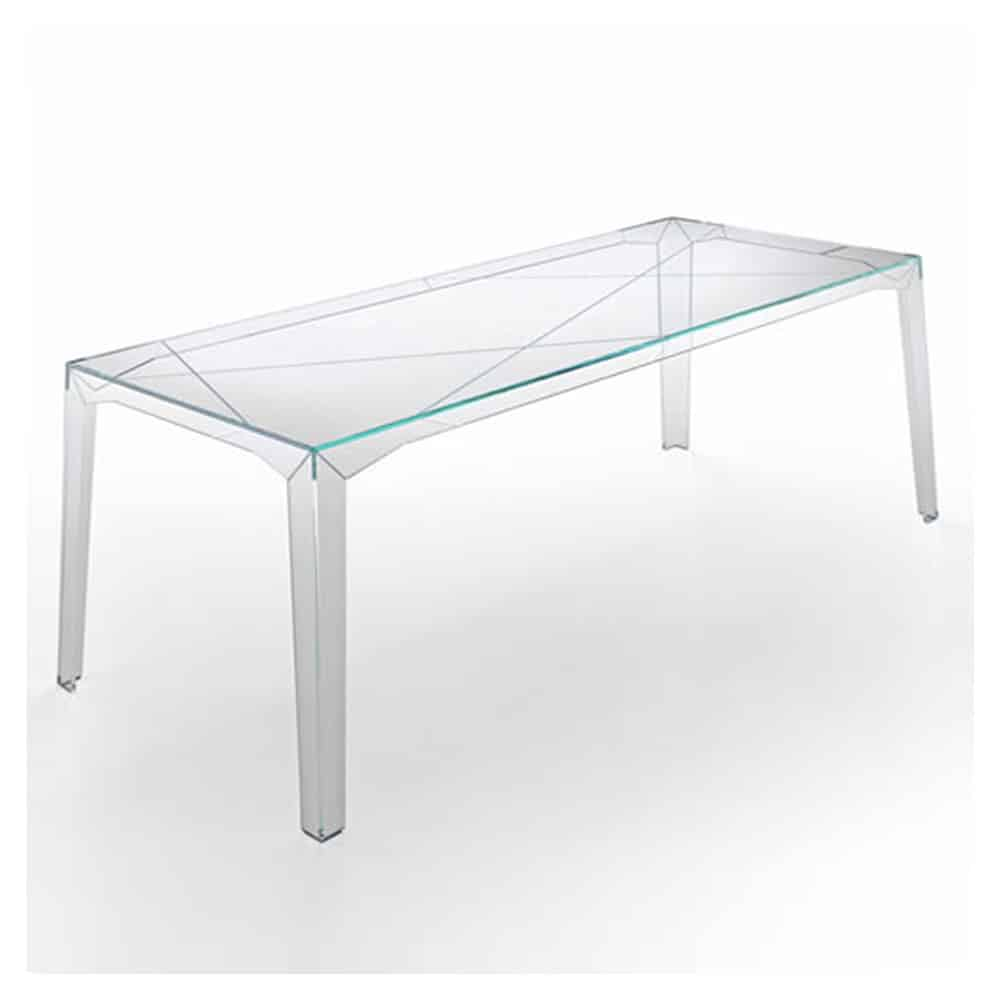 fragments glass dining table by tonelli  klarity  glass furniture - klarity  glass furniture shop  glass dining tables  all glass diningroom tables  fragments glass dining table by tonelli