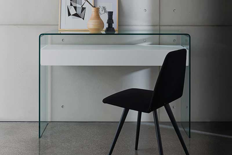 glass furniture - console table