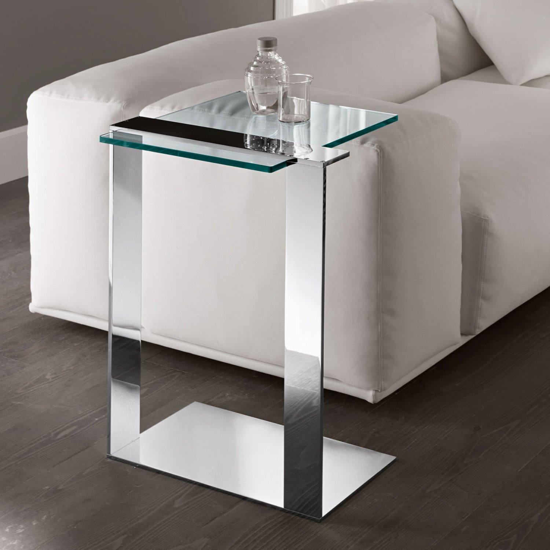 Joliet Glass Table By Tonelli Klarity Glass Furniture