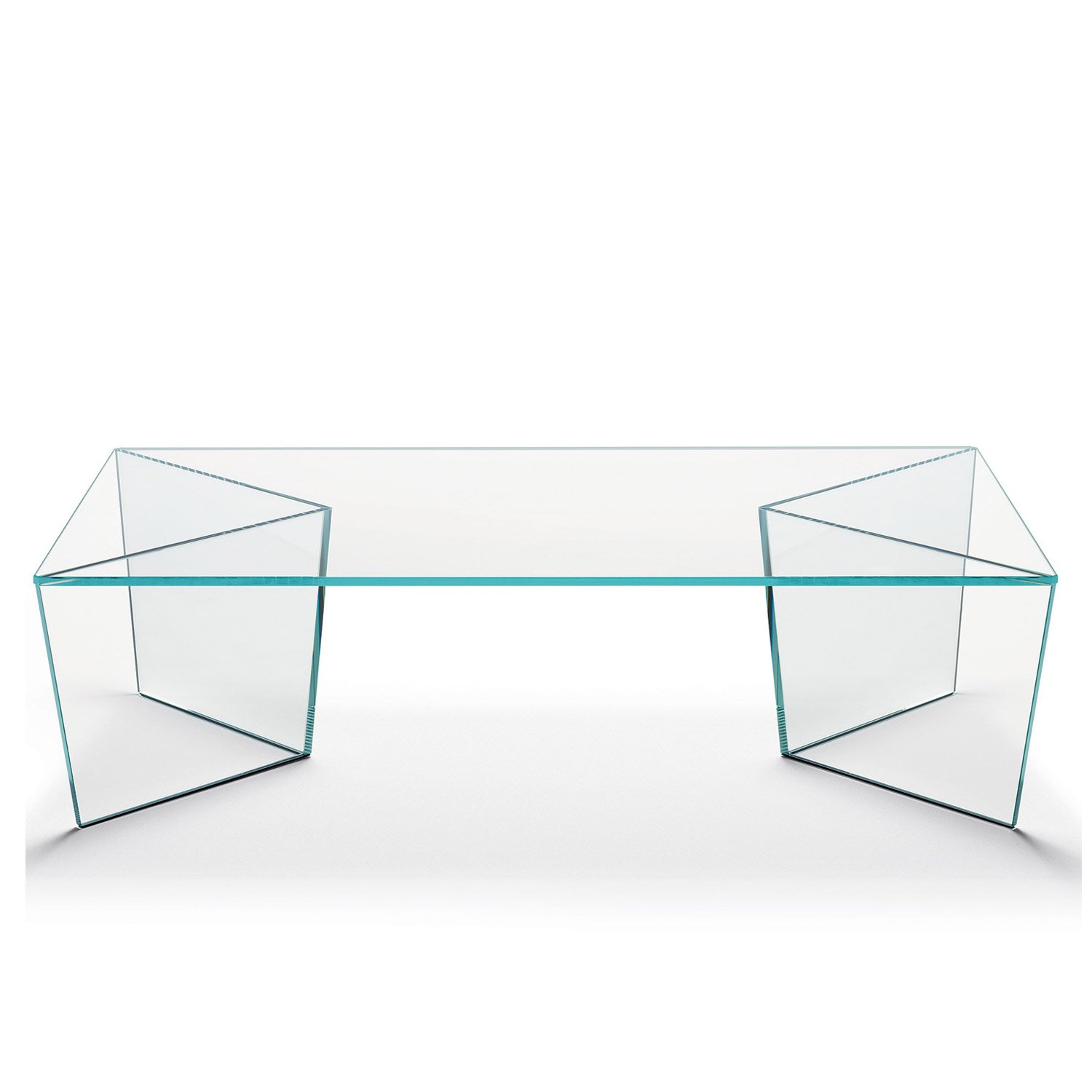 Mirage Rectangular Glass Coffee table by Tonelli Klarity Glass