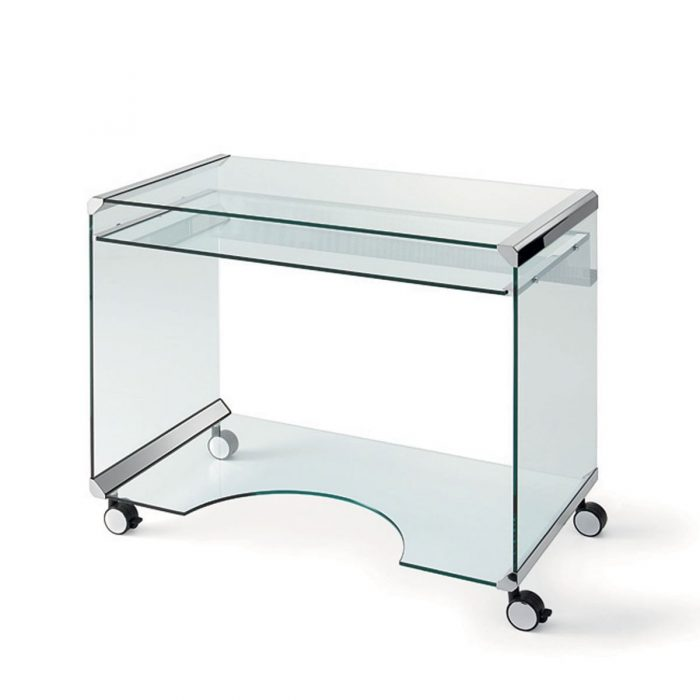 President Curved Glass and Metal Desk by Gallotti amp Radice  : movieA glass desk 1 700x700 from glassfurniture.co.uk size 700 x 700 jpeg 9kB