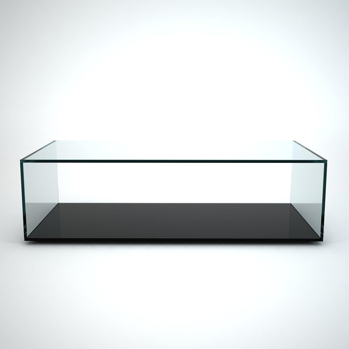 Rectangular Glass Coffee Tables Uk: Quebec Rectangular Glass Coffee Table By Klarity