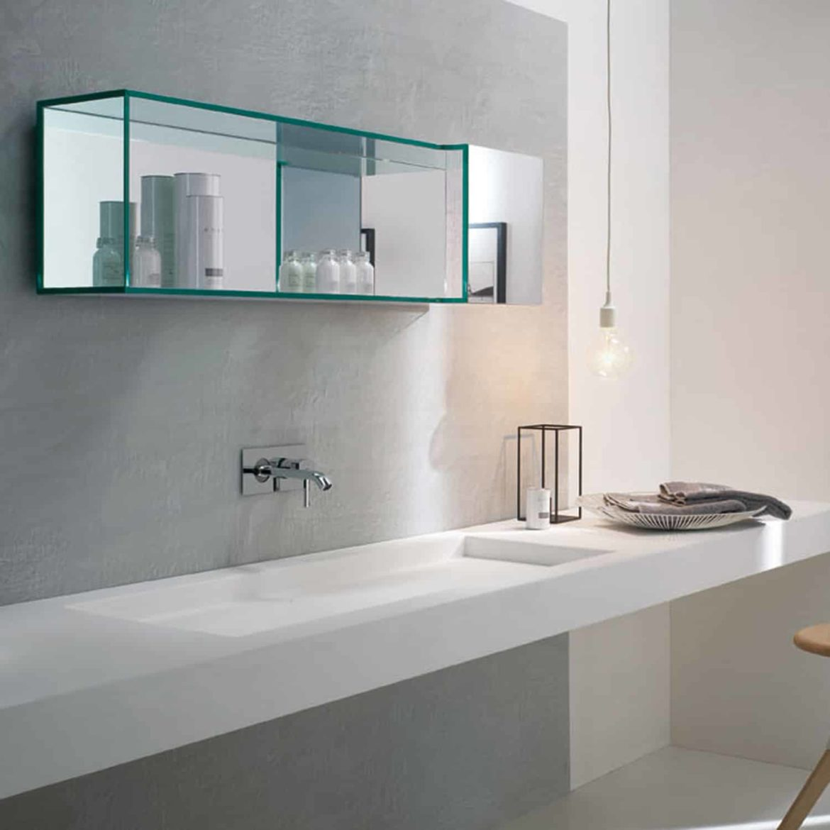 Brama 2 mirror by tonelli