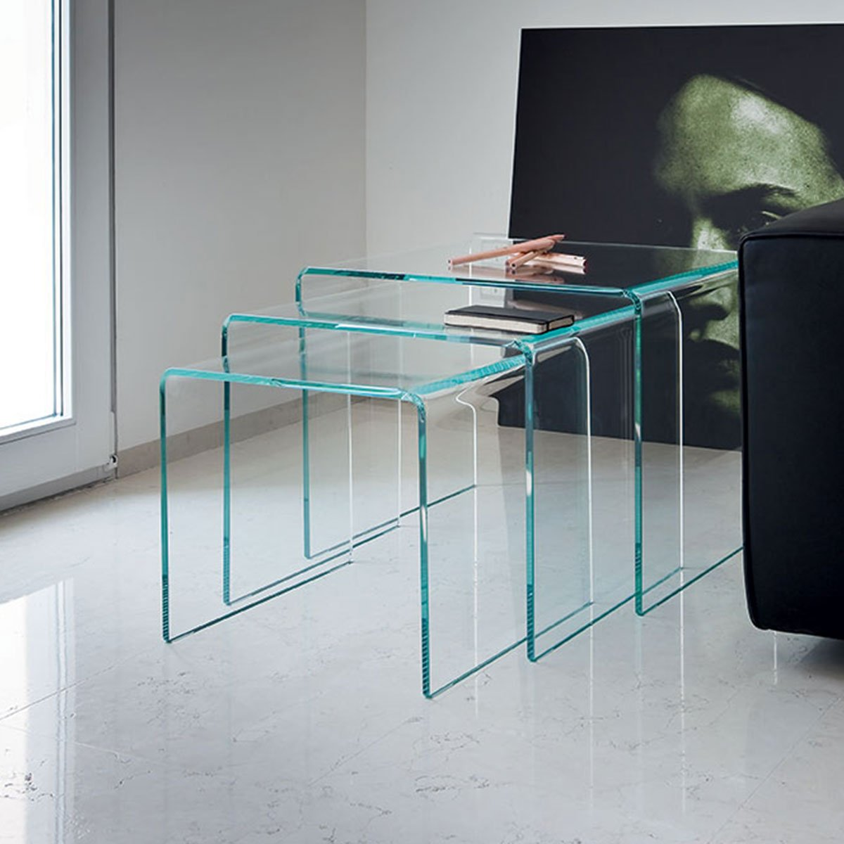 Glass coffee table glass furniture blog for Glass furniture