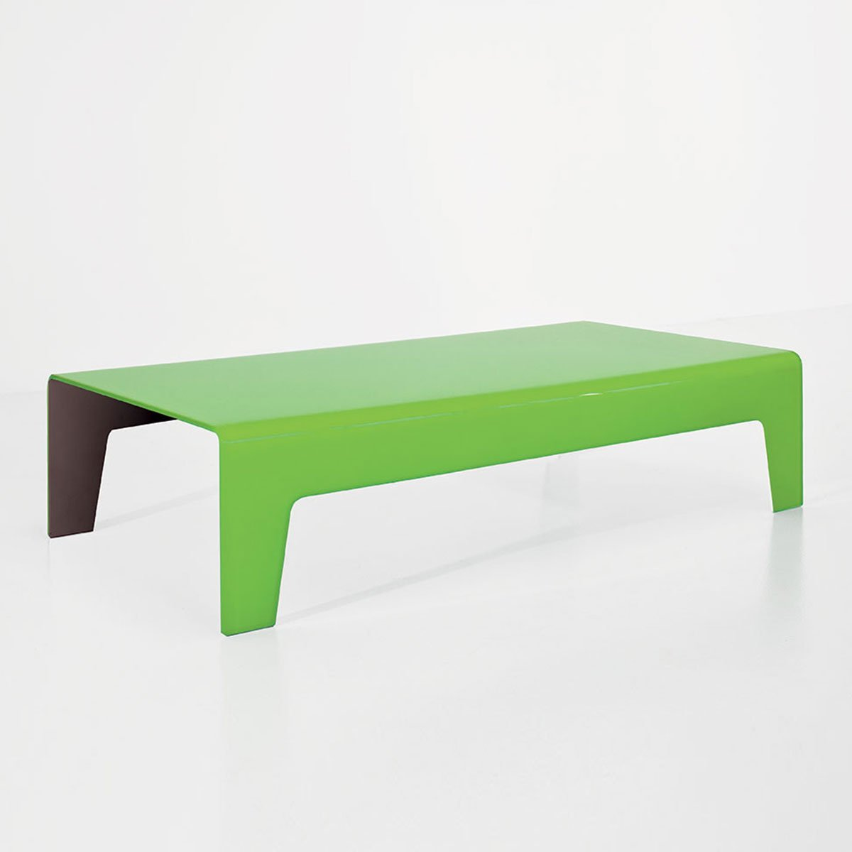 Frog Curved Glass Coffee Table By Sovet Italia Klarity
