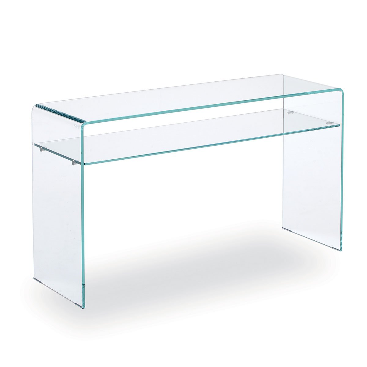 Glass Hall Table Sovet Italia - Klarity Glass Furniture