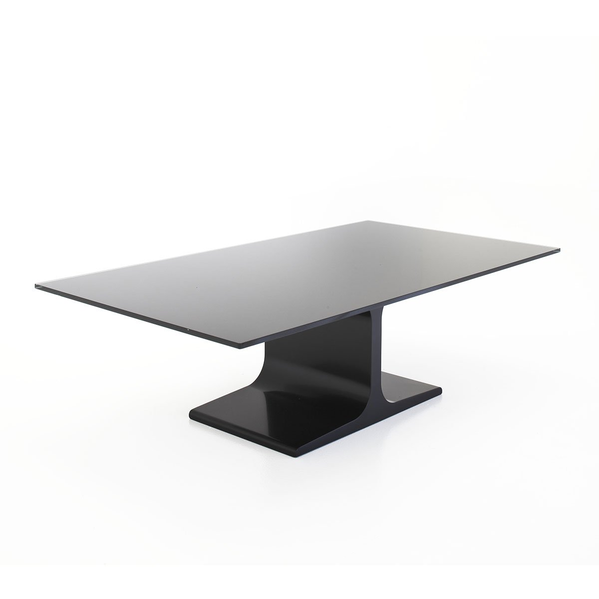 Palace glass metal coffee table by sovet italia klarity glass furniture Metal and glass coffee table