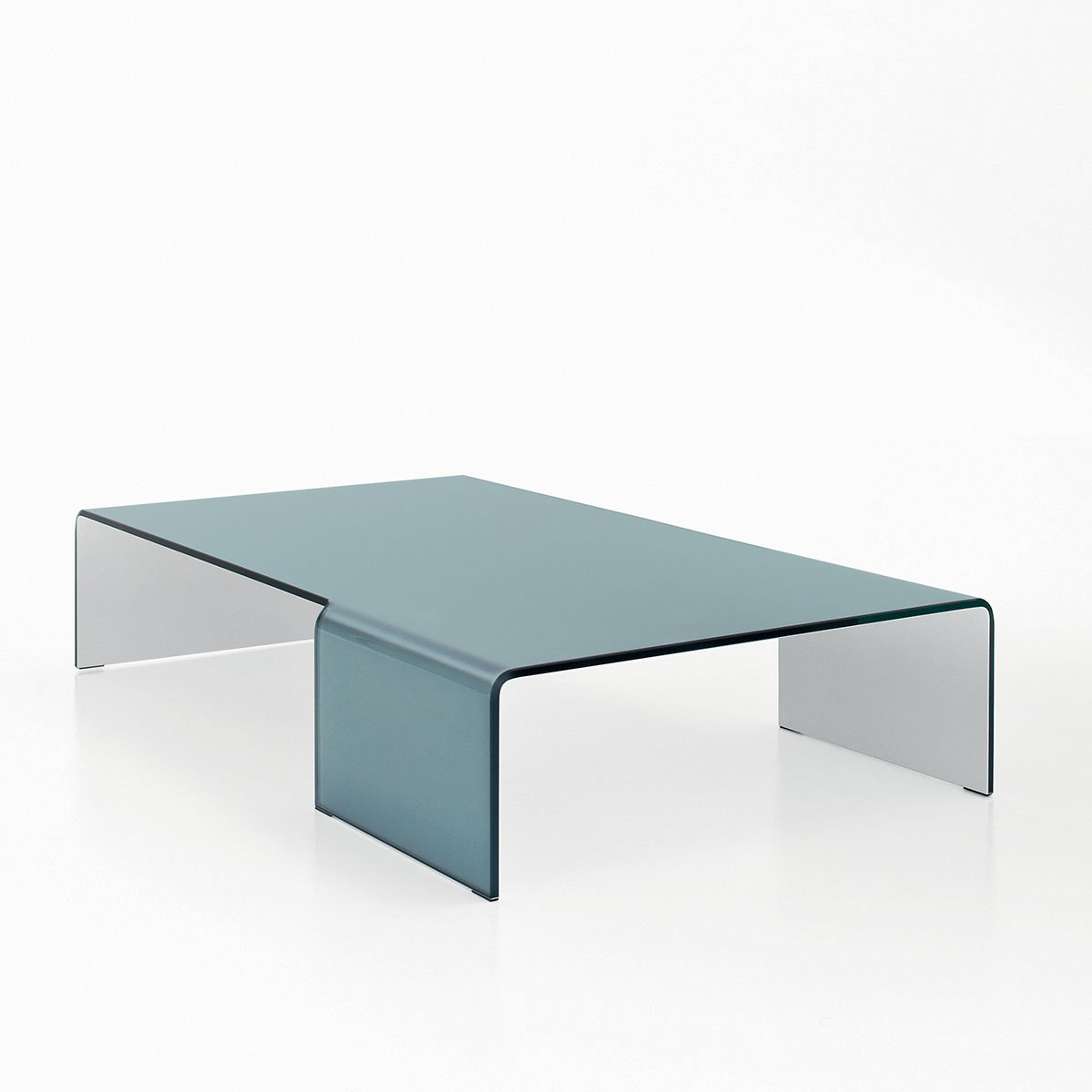 Spider Curved Glass Coffee Table By Sovet Italia Klarity