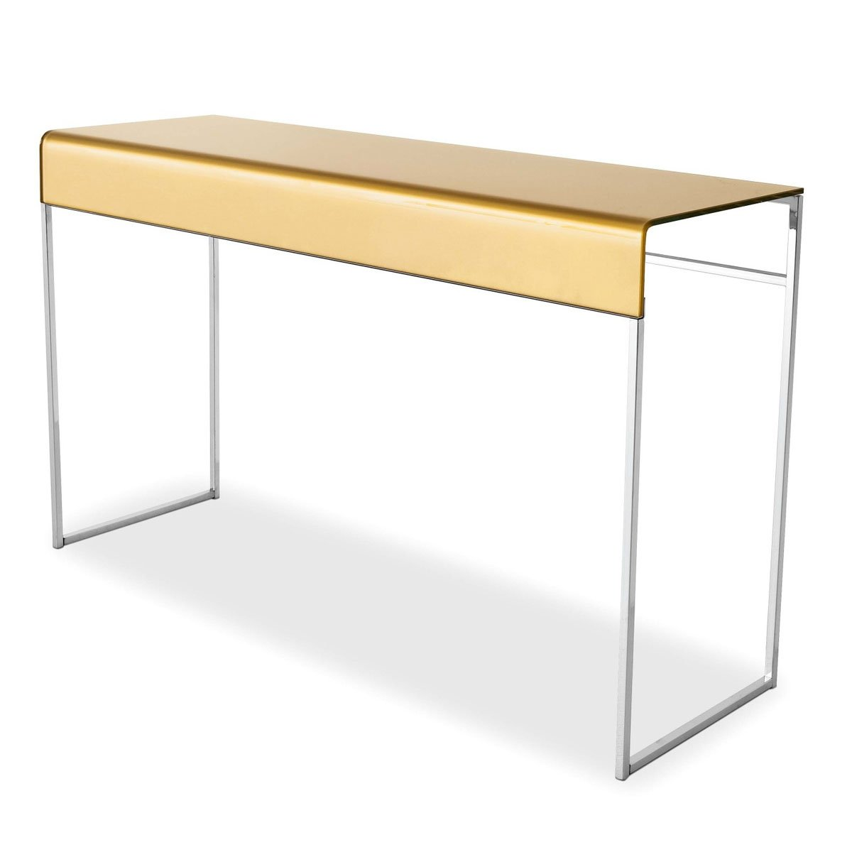 Nido Glass Console Table By Glass Italia Klarity Glass Furniture
