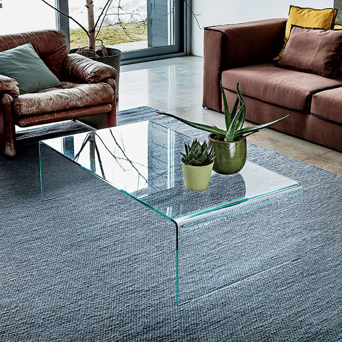 Sovet Bridge Coffee Table Klarity Glass Furniture