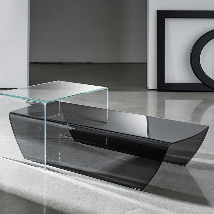 Curved Edge Glass Coffee Table: Glass Coffee Table Solutions