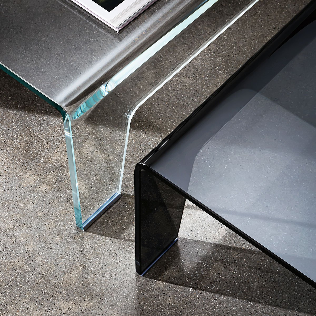 Sovet Frog Coffee Table Klarity Glass Furniture