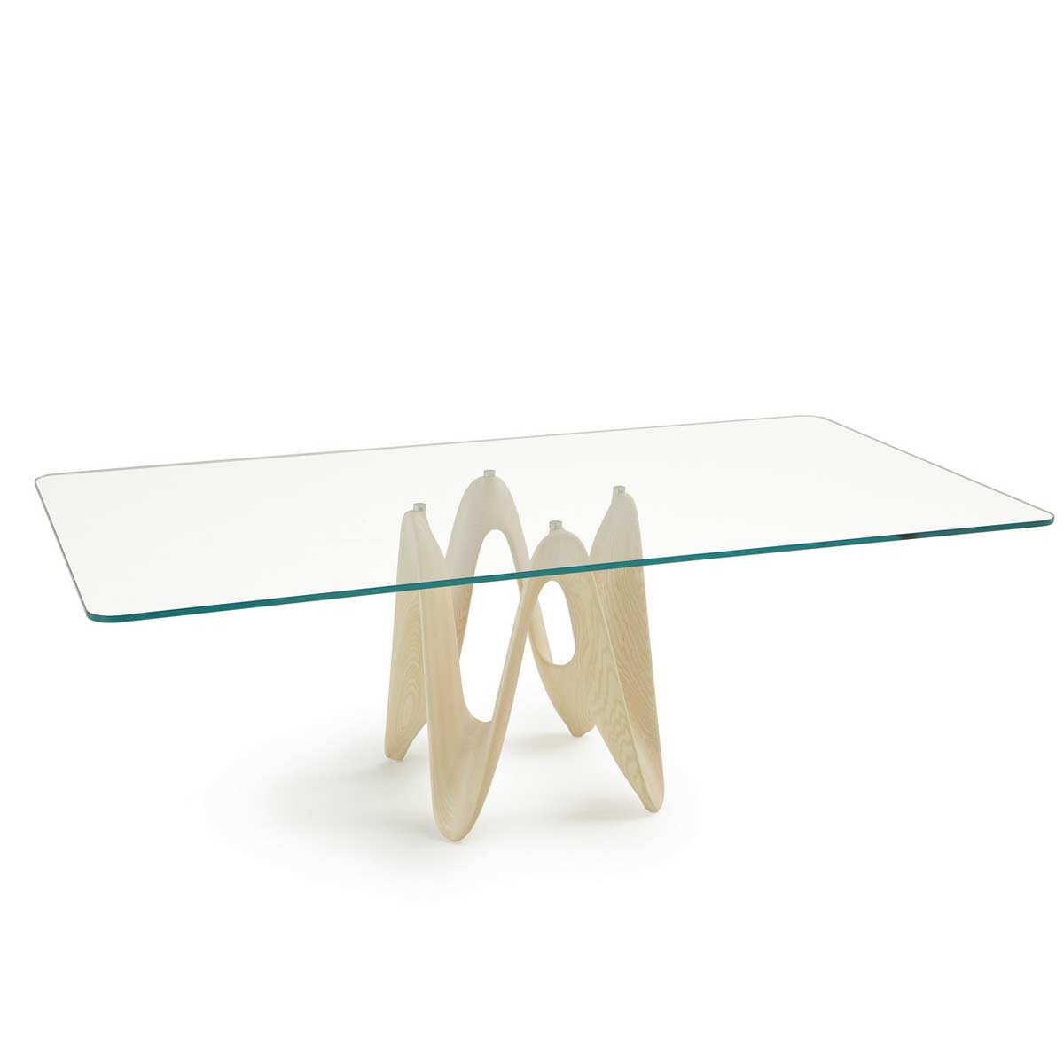 Lambda Rectangle Amp Square Glass Dining Table Klarity