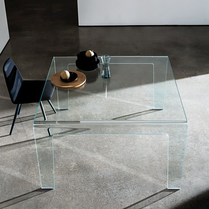 All Glass Dining Room Tables Klarity Glass Furniture