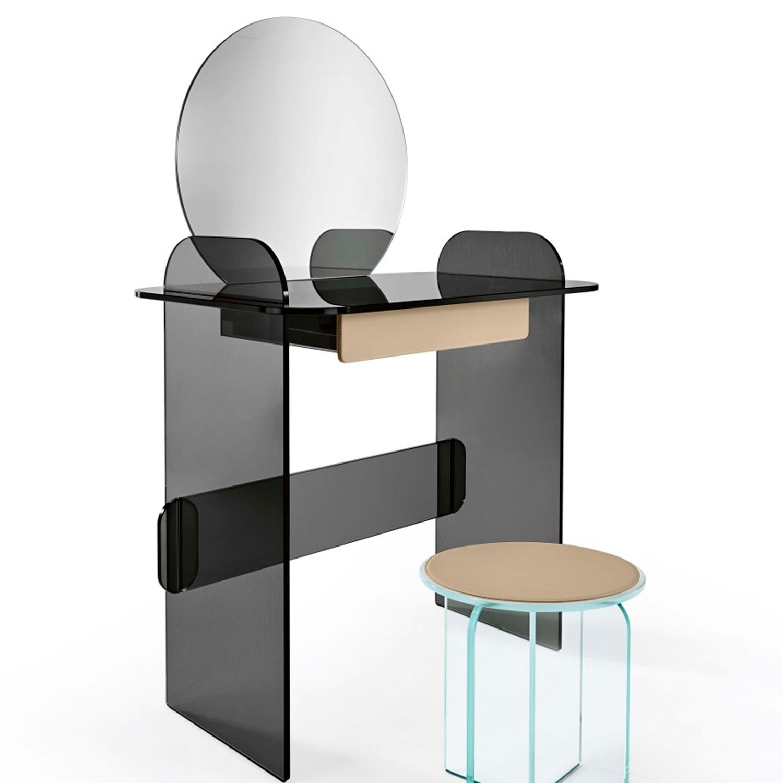 Opalina Toeletta Console Table Klarity Glass Furniture