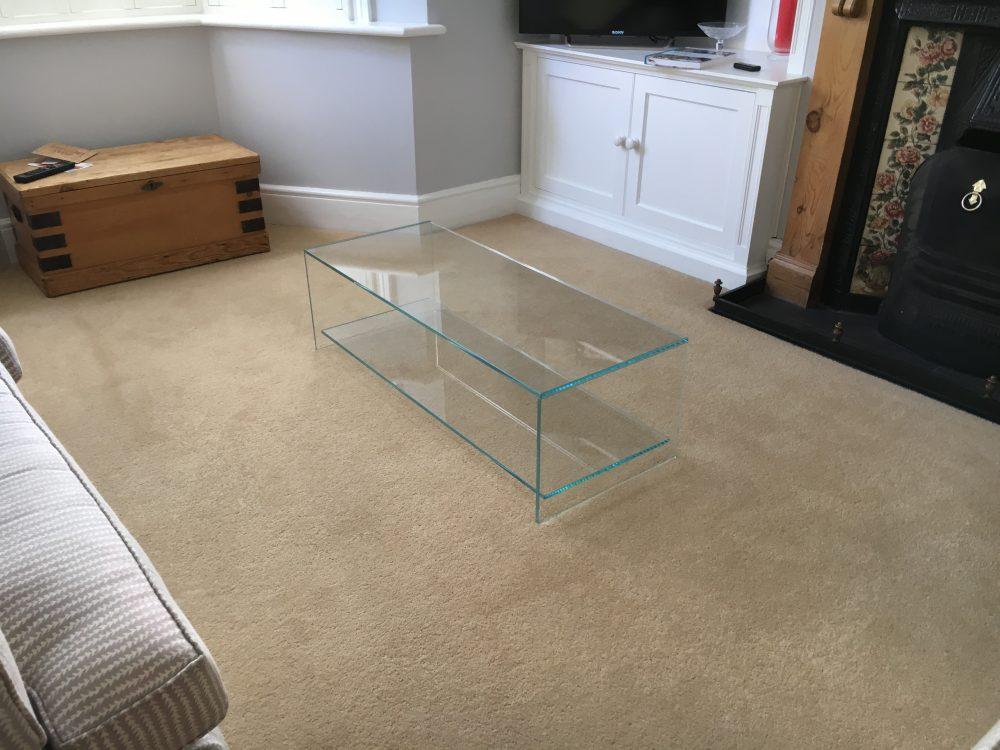 Judd Smoked Glass Coffee Table