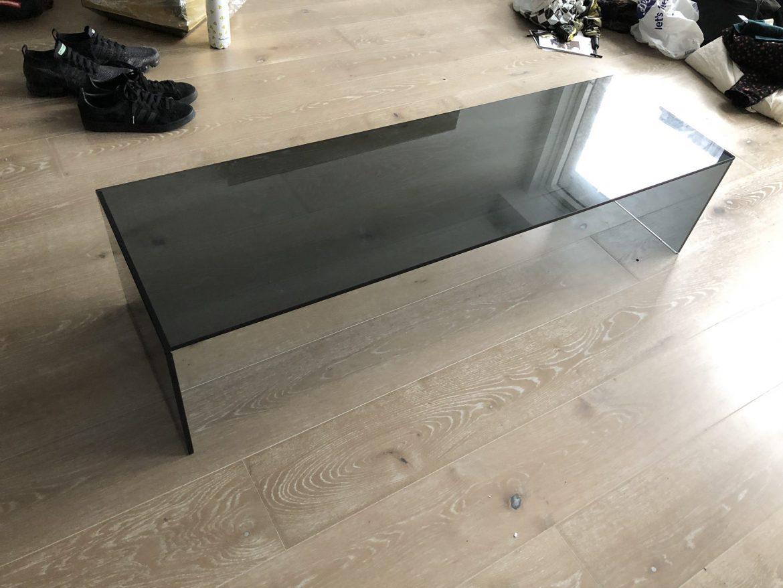 Smoked Glass Coffee Table